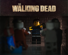 The walking dead. (69zombieslayer) Tags: google lego axe zombies googlesearch thewalkingdead legominifigures legozombies rickgrimes