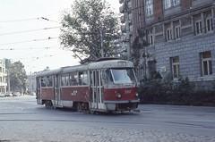 1991-10, RATB, Bucuresti (Fototak) Tags: tram romania bucuresti strassenbahn tatra ratb 3397 ligne35