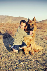 German shepherd  Man's best friend (Ronnie Fituci) Tags: love dogs kids germanshepherd bestfriends germanshepherddog germanshepherds flickrandroidapp:filter=none