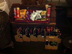 Wine and nibbles