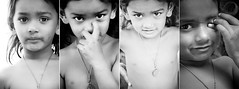 (Kals Pics) Tags: portrait blackandwhite bw india art monochrome canon photography blackwhite kid eyes child expressions colorless tamilnadu villagepeople cwc villagelife rurallife teni ruralindia indianvillages 550d theni ruralpeople villagephotography kalspics 18135mmis chennaiweelendclickers  boothipuram