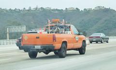 Caltrans Truck (7) (Photo Nut 2011) Tags: california truck pickup sierra freeway gmc musclecar caltrans 0091398