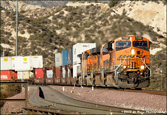 Stacks at Cajon Wash (El Roco Photography) Tags: california railroad santafe train canon outdoors photographer desert rail trains socal mojave transportation summit locomotive ge silverwood railfan bnsf trainspotting cajon desertlandscape mojavedesert freighttrain sanbernardinocalifornia desertflora inlandempire sanbernardinocounty pilgrimhill forestservice emd atsf usfs burlingtonnorthernsantafe desertmountains cajonpass es44dc gevo railfans alltrains alray stacktrain bnsfrailroad traininaction burlingtonnorthernsantaferailroad hill582 movingtrains desertshrub desertbeauty deserttrains aphotographersnature elrocophotography sanbernardinorailroads 3n45 forestserviceroad3n45 bnsfcajonsubdivision