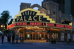 Palace Theater Albany, New York with LED S14 Light Bulbs (LEDMAN618) Tags: lighting newyork lightbulb marquee globe bars colorful theater closets led signage albany storefronts staircases cabinets ceilings décor ledlights lounges theatermarquee accentlighting ledbulbs ledlightbulb