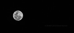 Never realises its loneliness..!! (HareshKannan) Tags: moon white night milk nikon alone loneliness lonely 55200mm d3100