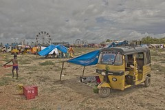 | Kulasekharapatnam (Kals Pics) Tags: auto life boy camp sky people india art history festival clouds canon landscape temple photography death kid play god good candid culture evil landmark games tent exhibition divine holy human vehicle gods amusementpark tradition legend mythology hdr myth stay tamilnadu dushera dasara villagepeople dussehra cwc villagelife rurallife ruralindia colorsofindia indianvillages 550d udangudi ruralpeople dhasara kulasekharapatnam kalspics chennaiweekendclickers 18135mmis divineindia udankudi lordmutharamman kulasekharapattinam
