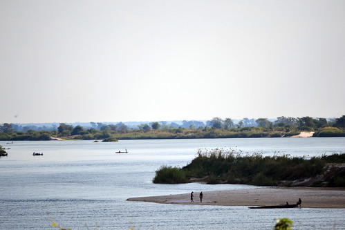 Zambezi at Senanga, Zambia. Photo by Simon Heck, 2011.