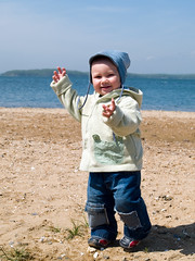 happy boy walking on the seaside (Maxim Tupikov) Tags: life park family boy sea baby cute green beach parenthood nature water smile face field grass childhood sport strand fun happy coast countryside kid spring clothing movement sand toddler infant child play little outdoor expression walk innocent young meadow son kind parent enjoy innocence friendly recreation
