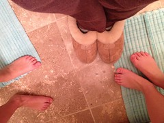 5.4.3.2.1...... (6ftmama) Tags: morning night bathroom you now routines fromwhereistand diggingdeeper samelookingdown