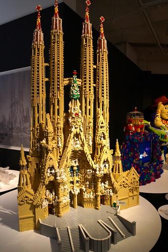 レゴブロックで作った世界遺産展