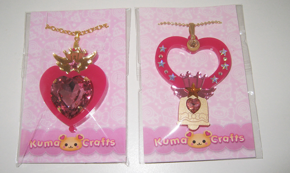 f82fc0062fc Kuma Crafts Sailor Chibimoon necklaces (ochibawolf) Tags: moon spiral toy  toys necklace heart