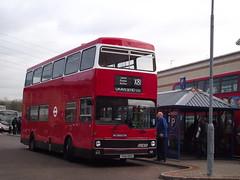 M1 (THX101S) 01-12-2012 rte X81 LSD.3 (routemaster2217) Tags: bus lakeside doubledecker londontransport mcwmetrobus ensignbus heritagevehicle stepentrancebus