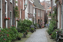 Haarlem street scenes (wandering tattler) Tags: street holland haarlem netherlands dutch scenery europe harlem historic quaint 2012