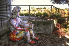 Sitt'n purdy (dred707) Tags: nov sculpture art 2012 carneros