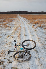 Kalvebod Dec 2012 (Riemanello) Tags: snow bike denmark tur swift scandinavia cykel singular rigid cykeltur kalvebod 1x10 flled