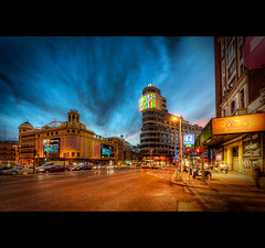Madrid  Gran Via - Nr. 3 (LaTietze) Tags: madrid espaa photoshop spain europa europe hdr spanien topaz granvia photomatix tonemapping nikond7000 mygearandme mygearandmepremium mygearandmebronze mygearandmesilver mygearandmegold mygearandmeplatinum mygearandmediamond sigma816 rememberthatmomentlevel4 rememberthatmomentlevel1 rememberthatmomentlevel2 rememberthatmomentlevel3 rememberthatmomentlevel5 rememberthatmomentlevel6