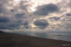 Heaven is For Real (2012) (mpsteen2) Tags: sunset sky sunlight sunshine lakemichigan greatlakes beach winter fall autumn seasons season cloud clouds water lake lakes beautiful beauty nature michigan westmichigan natural photography touching heartfelt emotional emotion sand sandy footprints footsteps footprint walk walking hiking exploring canon t2i adventure light ocean blue dark moody exposed lonely alone lonesome lonerisms fantasy dream landscape composition wallpaper background waves wave storm fog beaches coast