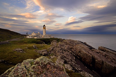 Rua Reidh Lighthouse at dawn, Gairloch, Scotland (iancowe) Tags: morning lighthouse west dawn coast scotland scottish stevenson rua re minch gloaming gairloch rubh northernlighthouseboard nlb melvaig reidh ruareidh rubhre lighthousetrek wbnawgbsct