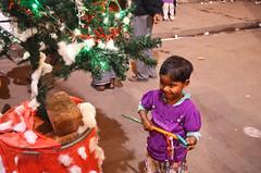 Christmas on the street - Bow Barracks Kolkata (anindya55) Tags: christmas portrait kids kid nikon kolkata bengal calcutta westbengal d5100 nikond5100 nikon1855mmf3556afsvrdx bowbarrack