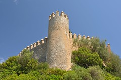 l'Almudaina d'Art (bazylek100) Tags: espaa tower castle architecture spain medieval walls fortification mallorca fortress middleages majorca art balearicislands zamek majorka architektura hiszpania twierdza lalmudainadart