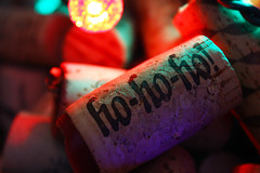 Wine Corks with Holiday Lights 2 (Kris Austen Radcliffe) Tags: christmas holiday canon lights wine cork explore coloredlights holidaylights winecork