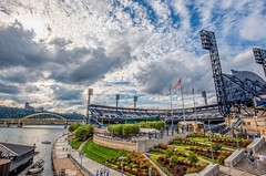 Clouds over PNC Park in Pittsburgh HDR (Dave DiCello) Tags: beautiful skyline photoshop nikon pittsburgh tripod usxtower christmastree mtwashington northshore northside bluehour nikkor hdr highdynamicrange pncpark thepoint pittsburghpirates cs4 ftpittbridge steelcity photomatix beautifulcities yinzer cityofbridges tonemapped theburgh clementebridge smithfieldstbridge pittsburgher colorefex cs5 ussteelbuilding beautifulskyline d700 thecityofbridges pittsburghphotography davedicello pittsburghcityofbridges steelscapes beautifulcitiesatnight hdrexposed picturesofpittsburgh cityofbridgesphotography