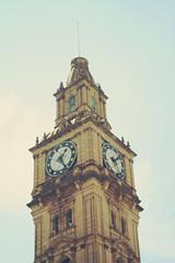 Melbourne (yourmoustacho) Tags: building melbourne clocktower