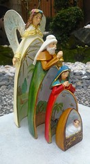 The Holy Family by Everything About Santa (Everything About Santa) Tags: mary jesus holyfamily jospeh religiousfigurine fiberresin everythingaboutsanta