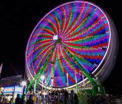 Alameda Grand Ferris Wheel (J.R. Krueger) Tags: canon 6d alameda fair night lights carnaval ferris wheel photography