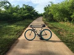Myanmar, Yangon Region, Southern District, Kawhmu Township, Yae Kyaw Village Tract (Die Welt, wie ich sie vorfand) Tags: myanmar burma bicycle cycling yangon rangoon yangonregion southyangondistrict kawhmutownship kawhmu yaekyawvillage surly steamroller southerndistrict