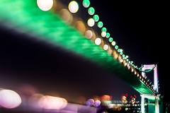 bridge for tomorrow (turntable00000) Tags: extrabokeh odaiba rainbow bridge minato tokyo japan night light bokeh bokehlicious nightscape