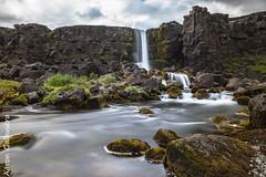 DSC02559 (aaron.galbusera) Tags: ingvellir national park iceland islanda parco nazionale natura panorama nature verde xarrfoss waterfall cascata