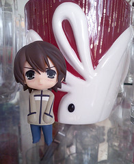 IMG_20160731_134411 (misakitrancy) Tags: misaki misakitakahashi junjou romantica nendoroid nendoroidpetite cute glass bunny kawaii photograph photography adorable beauty decor