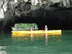 DSCF4790 (vbolinius) Tags: 2016 annike cave gerard halongbay islands kayak ocean travel vietnam