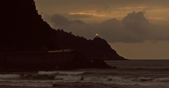 Zarautz (kadege59) Tags: baskenland basquecountry euskalherrian zarautz zarauz spain spanien espaa europe europa biskaya sea seascape wow wonderfulnature night canon beach