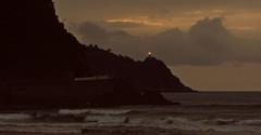 Zarautz (kadege59) Tags: baskenland basquecountry euskalherrian zarautz zarauz spain spanien españa europe europa biskaya sea seascape wow wonderfulnature night canon beach