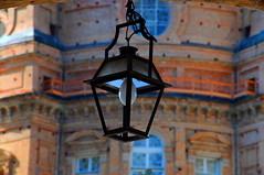 Dettagli (Luigia80 (Pat)) Tags: light luce colori details dettagli liguria cuneo mondovi vicoforte santuario cupola colors tone lampione