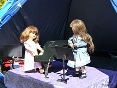 Summer Music Festival (Balancing Kiwi) Tags: peggysue edith schoenhutmissdolly music summermusicfestival flute piano