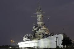 USS Alabama Front (dcnelson1898) Tags: mobile alabama mobilebay ussalabamabb60 battleship usnavy worldwar2 warship dawn longexposure nikond500 battleshipmemorialpark travel tour vacation