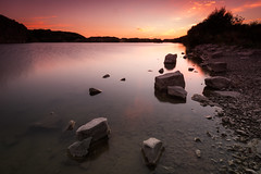 Rhoose (Pentax Gareth) Tags: rhoose wales welsh uk sunset lastlight landscape waterscape art wallart fineart water rocks light colour color pentax k3ii sigma 1020mm hitech filters