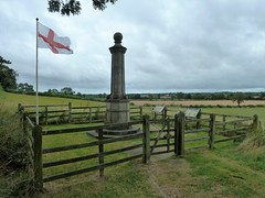 The Cromwell Memorial Naseby (martyboy2 of Britain) Tags: english civil war 1642 1646 naseby charles 1st oliver cromwell the memorial