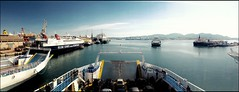 Afternoon Calm (odevee) Tags: ship greece salamina harbour ferry