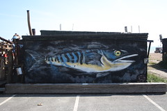 Caught a Whopper (My photos live here) Tags: fish graffitti hastings east sussex england seaside holiday resort canon eos 1000d