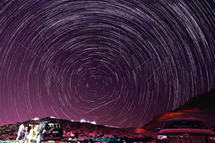 ~ Star-trails & Perseid Meteor Shower ~ Explored on 25/08/2016 ~ (Chirag Khatri) Tags: nikon d7200 tamron1530 tamron nikontop nikonmea stars startrails night sky longexposure astro nature stacking blending experiements uae jabeljais mountain meteor perseid perseidmeteor meteorshower stargazers explore photography dark light lightpainting
