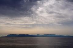 Coast silhouette (Davide Massidda) Tags: sicilia sicily seascape