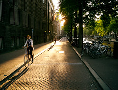 Amsterdam (angheloflores) Tags: amsterdam street people summer sunset light urban explore bike travel holland