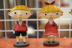Figurine Design (Design Festa) Tags: designfesta designfestasummer art artfestival artevent artwork design tokyo japan japanese japaneseartfestival japaneseart original handmade madeinjapan figurine figure figurinedesign twins cute surreal originaldesign