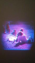 Quel est le personnage qui joue de la clarinette dans l'image ? (Dominik Lange) Tags: anaglyph stereoscopy stereophotography landart holidays freetime diaries parkcity poetry paris