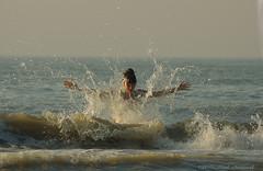 Belgian coast (Natali Antonovich) Tags: belgiancoast northsea sea water wenduine lifestyle relaxation horizon portrait natalyahrebionka mood smile waves seasideresort seashore seaboard seaside