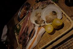 !! (HAMACHI!) Tags: tokyo bbq 2016 japan food  zenibakobbq hokkaido ginza shinbashi charcoalgrill dinner pub seafood fujifilmx70 fujifilmx x70